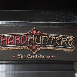 Download free STL file Shardhunters Logo for the box of shardhunters on the site. • 3D printer design, dud99