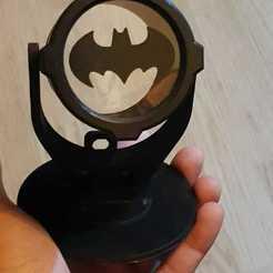 Free STL files Bat-signal by LeHof, danielpedrozadp
