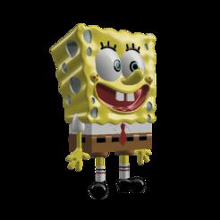 spongebob 2.png Télécharger fichier OBJ Bob l'éponge • Plan à imprimer en 3D, michaelissosexy