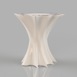 vase .png Download free STL file Reversible vase • 3D printer design, IdeaLab