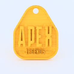Descargar Modelos 3D para imprimir gratis Llavero de Apex Legends, IdeaLab