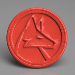 wolfram 2.png Download free STL file Wolfram language drinkcoaster • 3D printing object, IdeaLab