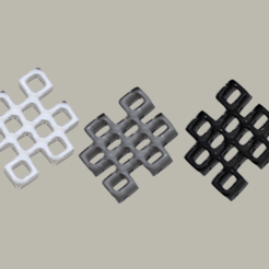 squares.png Download free STL file Earrings 'squares' • Design to 3D print, IdeaLab