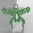 Download free 3D printer model Celtic fly earrings, IdeaLab