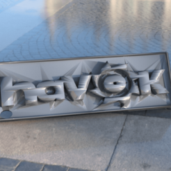 Download free 3D printer designs Havok keychain, IdeaLab