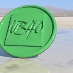 Télécharger STL gratuit Sous-verre UB40, IdeaLab