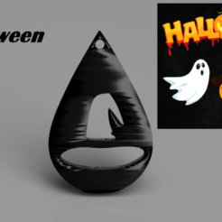 Download free 3D printer designs Halloween earrings: 'hat', IdeaLab