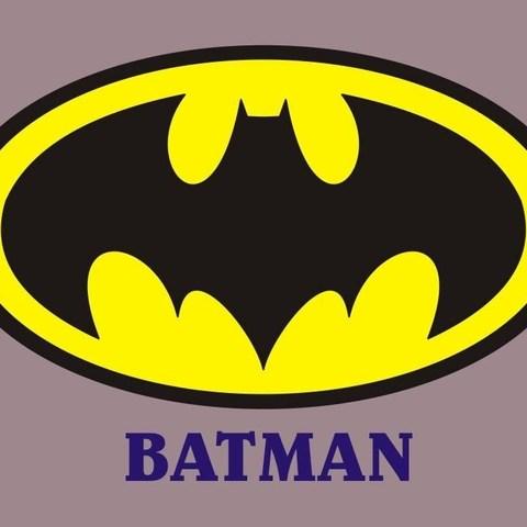 Download Free 3d Printing Templates Batman Drinkcoaster Pair Cults