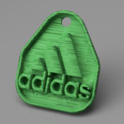 Download free 3D printer model Adidas keychain, IdeaLab