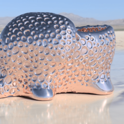 Free 3D print files Elephant dryer (closed voronoi), IdeaLab
