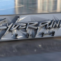 Download free STL file Cyberpunk 2077 keychain, IdeaLab
