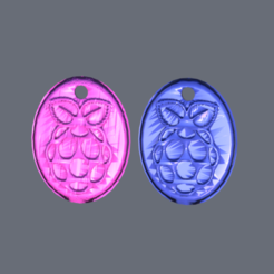 pi.png Download free STL file Keychain: 'Raspberry Pi' • 3D printer template, IdeaLab