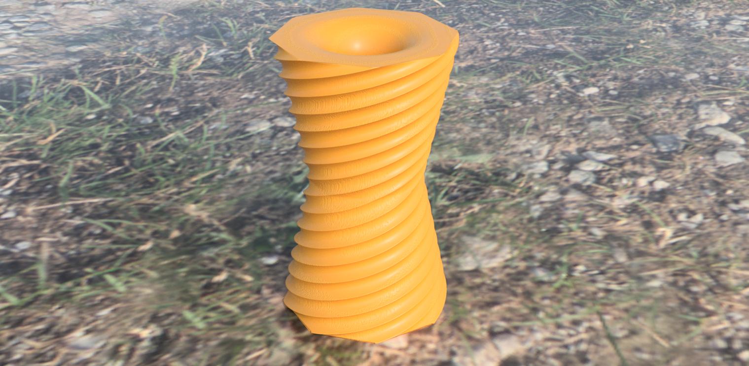 vase v4.png Download free STL file Reversible vase • 3D printer design, IdeaLab