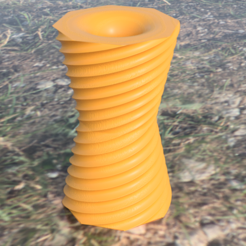 vase v4.png Download free STL file Reversible vase • 3D printer design, IdeaLab