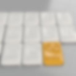 Free 3D printer model Rummikub (remix), IdeaLab