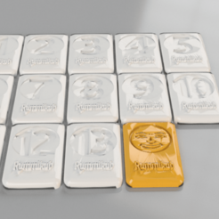 Free 3D printer model Rummikub (remix), IdeaLab