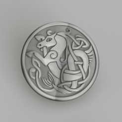 myth 2.png Download free STL file Celtic myth coaster v2 • 3D printable model, IdeaLab