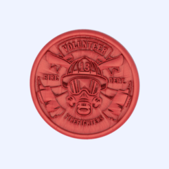 firefighter.png Download free STL file Firefighter coaster • 3D print model, IdeaLab