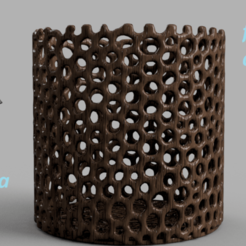 Download free 3D printer files Celtic mandala flower container, IdeaLab