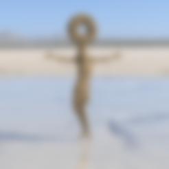 Free 3D printer files Jesus pendant, IdeaLab