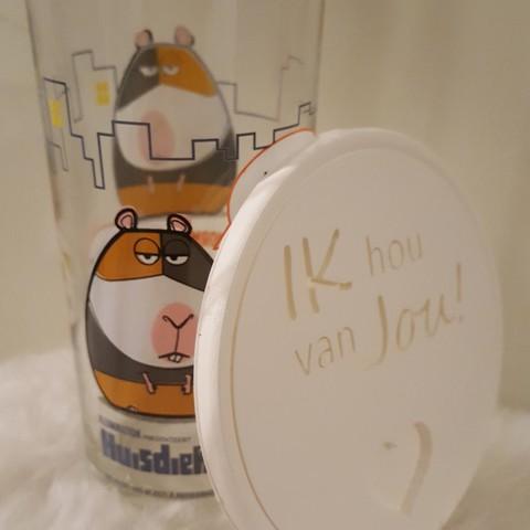 20190319_195723.jpg Download free STL file Ik hou van jou! drinkcoaster pair • 3D printer model, IdeaLab