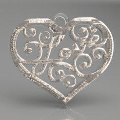 Download free 3D printing designs L.O.V.E. earrings, IdeaLab