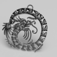 Download free 3D printing models Celtic Dragon earrings, IdeaLab