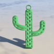 Download free STL Cactus earring, IdeaLab