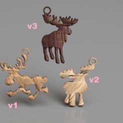 Descargar modelos 3D gratis Pendientes de alce (juego), IdeaLab