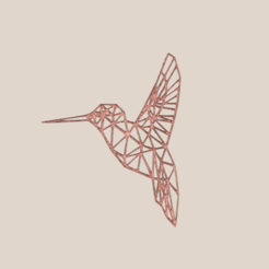 birdart v3.png Download STL file Bird Art Style • 3D printable template, IdeaLab