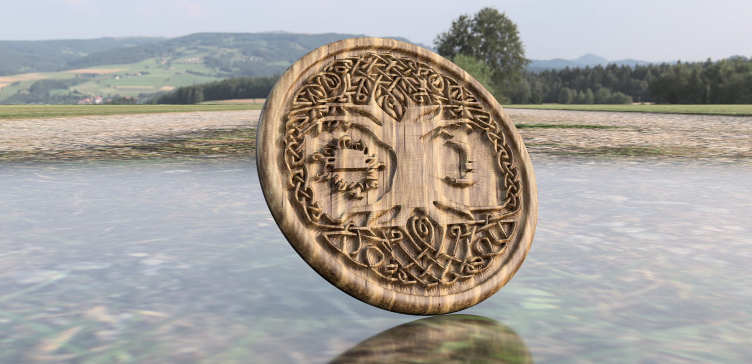 tree version 2 B.png Download free STL file Celtic tree of Life drink-coaster (version 2) • 3D printer object, IdeaLab