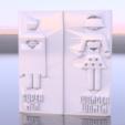 Télécharger modèle 3D gratuit Toilettes super-héros design, IdeaLab