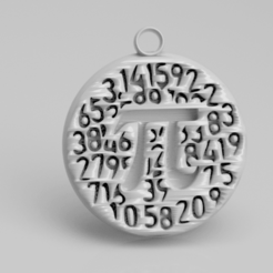 math.png Download free STL file Math earrings • 3D print design, IdeaLab