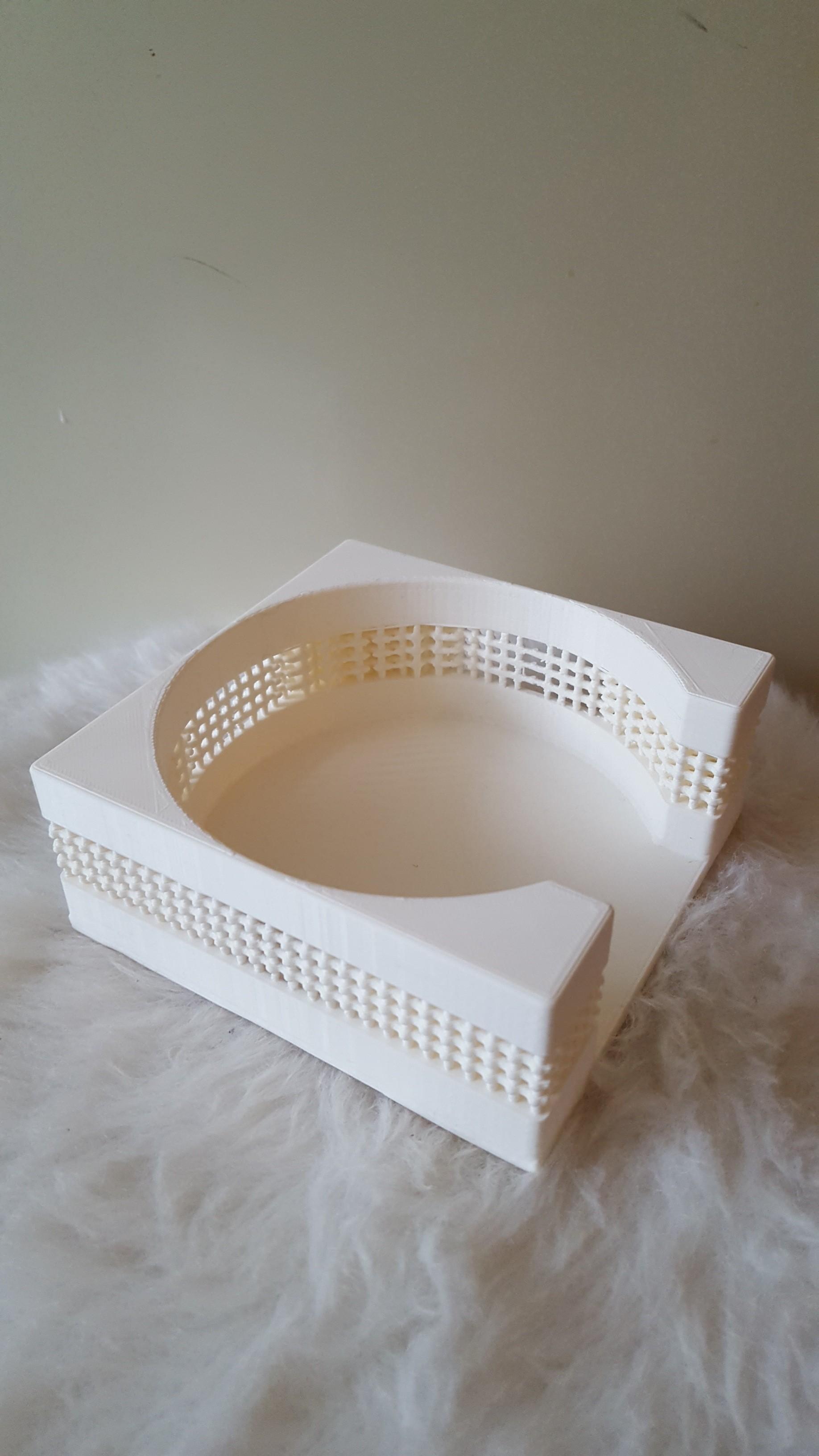 20190407_191320.jpg Download free STL file Coasterholder lattice pattern • 3D printer template, IdeaLab