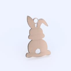 Télécharger fichier impression 3D gratuit Boucles d'oreilles lapin de Pâques, IdeaLab