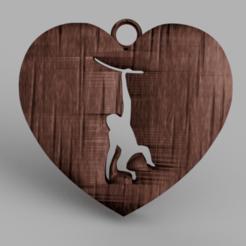 Descargar modelos 3D gratis Pendientes de monos, IdeaLab