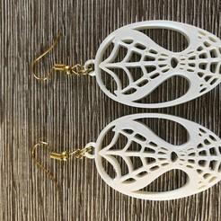 Download free 3D printer model Spiderman earrings, IdeaLab