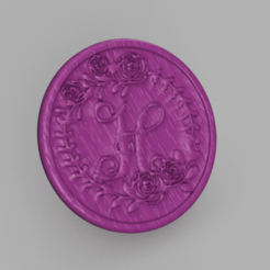 H.png Download free STL file Letter H drinkcoaster • Design to 3D print, IdeaLab