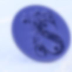 Télécharger STL gratuit Dessous de verre avec la lettre'S'., IdeaLab