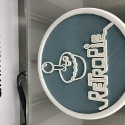 Download free 3D printer designs Retropie drinkcoaster, IdeaLab