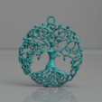 Download free STL files Celtic tree of life earrings (2.0), IdeaLab