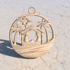 Download free 3D printing models Manger Christmas, IdeaLab