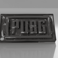 Download free 3D printer model PUBG keychain, IdeaLab