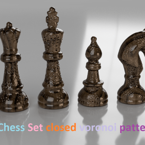 Download free 3D printing templates Classical Chess (Шахматы
