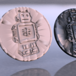 Free 3D printer designs Coaster robot, IdeaLab