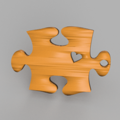 Download free 3D print files Jigsaw puzzle earrings, IdeaLab