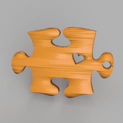 Télécharger STL gratuit Boucles d'oreilles en forme de puzzle, IdeaLab
