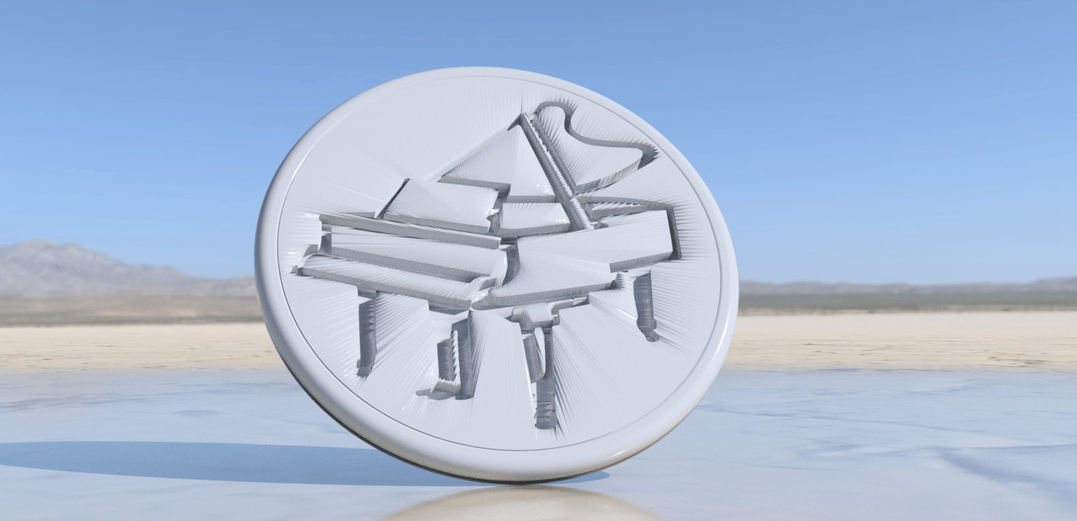 piano 2.png Download free STL file Piano drinkcoaster pair • Model to 3D print, IdeaLab