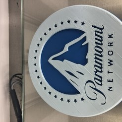 IMG_4089.jpg Download free STL file Paramount Network drinkcoaster • 3D print template, IdeaLab