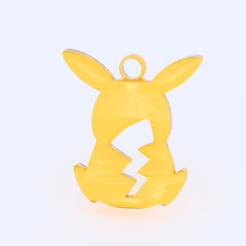 Download free STL Pikachu earring, IdeaLab